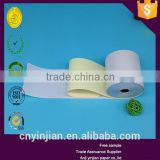 2015 the most popular 2 ply NCR blue paper rolls ncr paper continuous carbonless printing paper