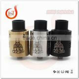 2016 alibaba usa ecig clone Atomizer MINI Buddha Rda With Factory Price 304 stainless steel vape atomizer 18650 rda buddha mini