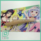 Anime cartoon custom design printing logo board game mat mouse pad                                                                                                         Supplier's Choice