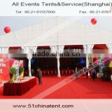 30m Width Aluminium Curved Roof Large Tents for Sports, Weddings, Parties,Exhibition, manufactured in Shanghai
