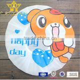 Cartoon plastic baby shower cap