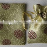 small Tang danasty brocade drwastring pouch bag for gifts and jewelry