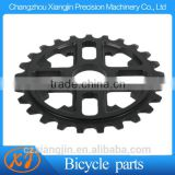 High Quality AL 7075 machining aluminium bicycle sprocket with you logo lasered