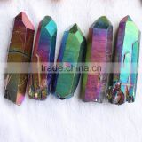 Charming Angel Aura Quartz Rainbow Crystal Point Wholesale