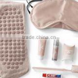 Luxury airplane amenities set/airplane sleeping set/airplane travel set with nylon bag for business class