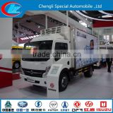 low temperature refrigerated China manufacturer refrigerated insulated van box truck 6 wheels refrigerated light truck