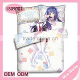 Anne Happy Unhappy Ruri Hibarigaoka Anime 4pcs bed covers set romantic bedspreads