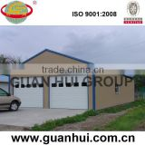 Expandable bolt connected fast assemble steel building garage