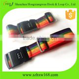 Smooth Trip Adjustable Luggage Strap Rainbow color