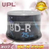 Blu-ray disc/Blu-ray disk/Blue-ray disc/BD-R/BDR/Made in Taiwan/full face white inkjet printable/50pcs