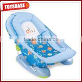 Mothers touch summer bubble fish baby shower chair best folding bath chair for baby