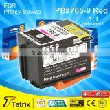 765-9 Red Postage ink cartridge for Pitney Bowes DM200 DM300c DM400C DM450C franking mailing machine