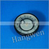 Surface bimetal hot water pipe thermometer