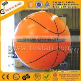 big inflatable basketball helium balloon inflatable sky balloon F2044