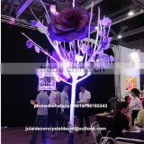 Flower tree Backdrop for Wedding Stage Decoration in Artificial Rose and Hydrangea