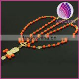 christmas gift alloy chain,acrylic beads indian hair jewelry,head accessory