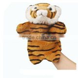Plush Animal Tiger Puppet Toy Jungle Fierce Tigers Hand Puppets Toys