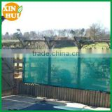 Windscreen Fence net with green color for basketball site used