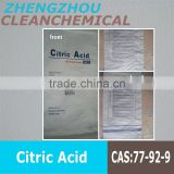 citric acid manufacturer for South-America best