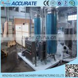 double tanks gas water and sugar mixing machine