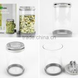 high quality glass jar,glass jar with lid,glass jar easy lock,airtight glass jar,glass candy jar,glass storage jar