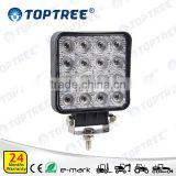 New LED 27w working light excavator auxiliary lights 10-30v tractor work lamp