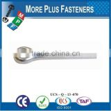 Made In Taiwan Hammer Lock Pin External Hitch Pin Cotter Pin