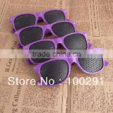 free shipping & 100% good quality can be mixed color Pinhole Glasses Improve Eyes Exercise spectacles#0101