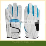 Custom logo artificial leather golf glove