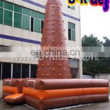 brown square mat rock climbing Inflatable climb hill