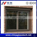 Environmental protecting profile aluminum alloy frame buiding standard sliding single tempered glass liquid crystal window