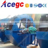 Marine sand desalting machine to get construction building use clean sand