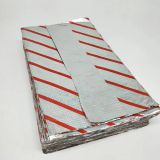 Inflight pop up aluminum foil pre- cut sheet