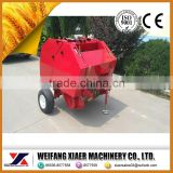 2014 cheap price mini round hay baler mrb0850/sawdust baler machine