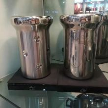 high-class unique stainless steel bar beer bucket ice bucket Stainless Steel Double Wall Ice Bucket