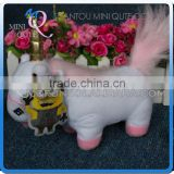 Mini Qute America cartoon 20 cm despicable me unicorn stuffed plush dolls kids collection educational toys NO.MQ 034