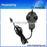 china wholesales UK Standard AC Plug 5V 1A 5.5*2.5 mm Wall charger Wall Charger for phone/laptop wall charger