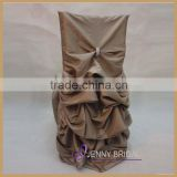 C001M Alibaba hotselling custom ruffled chair cover for banquet                                                                         Quality Choice