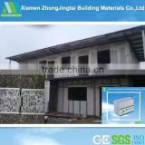prefab house heat insulation styrofoam sheet metal panels for walls