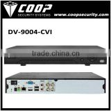 4 Channel Real Time Preview 1080P CVI DVR DMSS VMS H.264 Support Android iPhone IPad USB 2U 1080P 4CH CVR