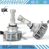 Multifunctional led headlight auto car led light bulb 12V 24V led headlight manufacturer supply
