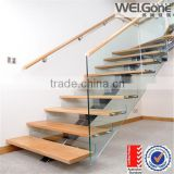 Clear Laminated Glass stairs Float Glass