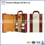 Multicolor High Quality Leather wine case,wine gift set
