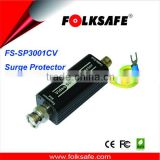 Coaxial Video 12V Surge Protector , Folksafe Model FS-SP3001CV