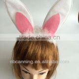 animal headband set/bunny ear headband/bow tie/tail set carnival cosplay