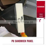 best fire proof Thermal Insulation Composition rock wool/ eps /pu/ fiber glass sandwich Panels