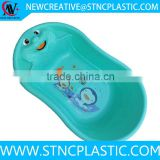 china plastic baby care item baby bath tub new design