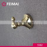 Brass Gold Plated Clothes Hanger Wall Mount Towel Radiator Hook