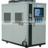 Industrial air-cooled chiller used in foaming machine with scroll compressor and heat pump