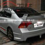 vehicle parts ABS for CLS-HD046 universal car spoiler for CIVIC SPORT